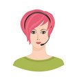 avatar icon female profile sign woman portrait vector image