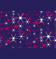 concept decorative night star background vector image vector image