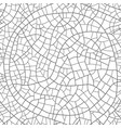 craquelure on surface seamless pattern vector image