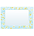 frame floral vector image vector image