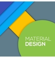 Modern unusual modern material design vector image vector image