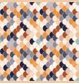 paper scales seamless squama retro stickers vector image