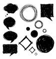 set bubles vector image vector image