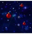 Snowflakes Polygonal vector image vector image
