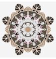 Stylized mandala temlate handmade vintage element vector image vector image