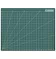 Cutting mat A4 vector image vector image