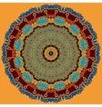 Mandala Print Oriental Style Design vector image