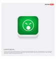 smiley icon face icon green web button vector image