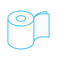 toilet paper two layers roll icon symbol for vector image vector image
