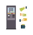 ATM Set vector image