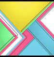 Background modern material design vector image vector image