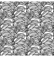 graphic sesame pattern vector image vector image