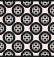 monochrome ornamental seamless pattern texture vector image
