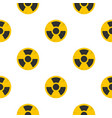 nuclear sign pattern seamless vector image vector image