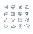 Printing Industry Icons vector image vector image