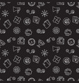 startup creative dark seamless pattern vector image