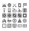 Video Game Icons 4 vector image vector image