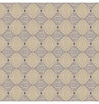Vintage pattern in sepia color vector image vector image