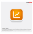 webarrow expand icon orange abstract web button vector image
