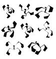 Guys Dancers vector image