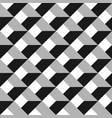 3d abstract seamless pattern grey grid vector image