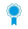 medal award symbol vector image