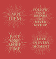 Motivational quotes on sun burst T-shirt print vector image