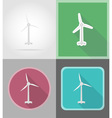power and energy flat icons 08 vector image