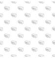 school building icon outline style vector image vector image
