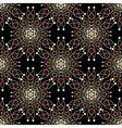 seamless pattern ornament with stylized geometric vector image vector image