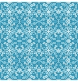 abstract floral spring pattern vector image vector image