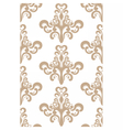 Acanthus leaves pattern vector image vector image