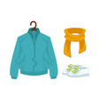 casual stylish outfit vector image vector image