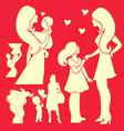Happy Mother 2 vector image vector image