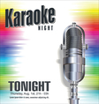 Karaoke colorful background vector image vector image