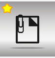 note black icon button logo symbol vector image vector image