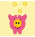 Piggy Bank Savings vector image