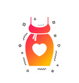 pregnant woman dress sign icon maternity symbol vector image