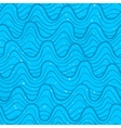 Seamless pattern with ocean waves vector image vector image