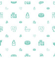 spa icons pattern seamless white background vector image vector image