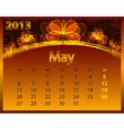 2013 calendar year vector image vector image
