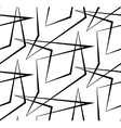 Abstract seamless white background of black vector image
