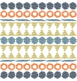 Aztec ethnic tribal seamless pattern vector image vector image