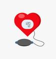blood pressure vector image
