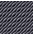 Carbon Seamless Fiber Background vector image vector image