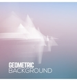 Sci fi geometric polygonal abstract background vector image vector image