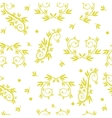 Seamless texture patterns with ornaments vector image
