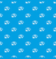 treatment of the eye pattern seamless blue vector image vector image