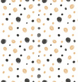 Simple hand drawn doodle seamless pattern vector image