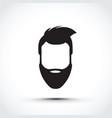 an icon of a face vector image